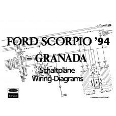 Ford Granada Wiring Diagrams 1994