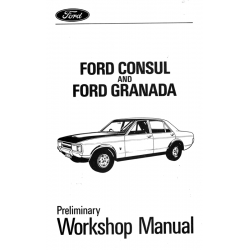 Ford Granada Mk1 Preliminary Workshop Manual