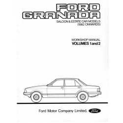Ford Granada Mk11 Workshop Manual Pt1 & Pt2